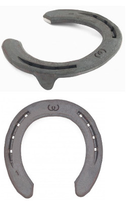 Werkman Warrior horseshoes