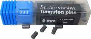 Tungston traction pins for horseshoes