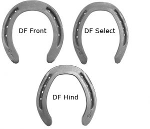 Kerchaert DF Series horseshoes