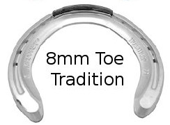 Quarter horse racing hind plate